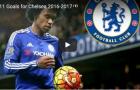 11 bàn thắng của Willian cho Chelsea mùa này