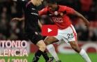 Tất cả bàn thắng và kiến tạo của Antonio Valencia mùa 2009/10