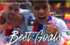 Chiêm ngưỡng những bàn thắng đẹp nhất mùa 2016/17