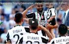 Juventus ăn mừng chức vô địch Serie A cực kỳ hoành tráng