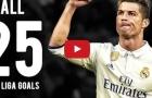 Tất cả 25 bàn thắng của Cristiano Ronaldo tại La Liga mùa 2016/17