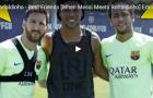 Ronaldinho, Messi và Neymar ngày hội ngộ ở Barca