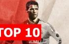 Top 10 bàn thắng khó tin của Ronaldo