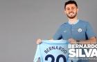 CHÍNH THỨC: Man City xác nhận thương vụ Bernardo Silva, công bố số áo