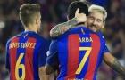 Đội hình kết hợp Barca - Alaves: 3-4-3 và tam tấu M.A.N