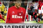 Lewandowski, Alaba và 10 pha sút phạt đẹp nhất Bundesliga mùa này