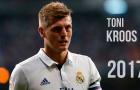 Toni Kroos chơi cực hay mùa giải 2016/17