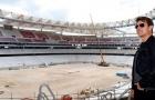 Tom Cruise 'lác mắt' trước độ hoành tráng của sân mới Atletico
