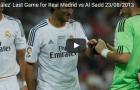 Trận đấu cuối cùng của Raul trong màu áo Real Madrid