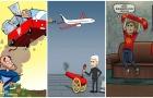 Biếm họa: Mourinho đột nhập ngôi nhà C1, Wenger bắn hạ chỉ trích