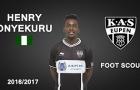 Henry Onyekuru - Sao mai đang nằm trong tầm ngắm của Arsenal