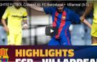 Giải trẻ: Barcelona đánh bại Villarreal