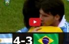 Trận cầu kinh điển: Argentina 4-3 Brazil (2012)