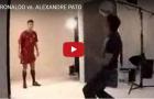 Màn song đấu đỉnh cao giữa Ronaldo và Pato gần 10 năm trước