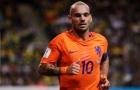 Sneijder CHÍNH THỨC phá kỉ lục khủng của Van der Sar