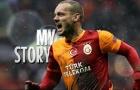 Wesley Sneijder, gã hói từng là nguồn sống của Hà Lan