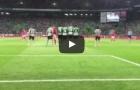 Siêu phẩm sút phạt của Victor Lindelof vào lưới Sporting Lisbon