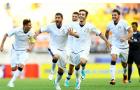 U20 Italia vỡ òa sau loạt cân não trước người Uruguay