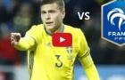 Victor Lindelof chơi rất hay trước Pháp (9/6/2017)