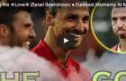 Những khoảnh khắc hài hước và đáng yêu nhất của Zlatan Ibrahimovic