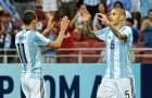 Messi vắng mặt, Argentina vẫn dễ dàng 'đánh tennis' tại Singapore
