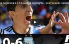 Singapore 0-6 Argentina (Giao hữu quốc tế)