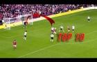 10 bàn thắng đẹp nhất của Man United vào lưới Liverpool
