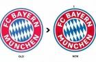 Bayern đổi logo, đến fan ruột cũng khó nhận ra
