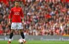Cristiano Ronaldo khi còn khoác áo Man United