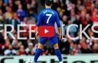 Tất cả các bàn thắng từ chấm đá phạt của Cristiano Ronaldo cho Man United
