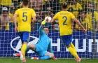 Trở thành bom tấn, Pickford tỏa sáng giúp U21 Anh hòa ĐKVĐ U21 Thụy Điển