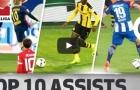 10 đường kiến tạo đỉnh nhất Bundesliga 2016/17