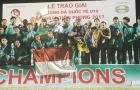 U15 Việt Nam ngậm ngùi nhìn U15 Indonesia vô địch giải U15 Quốc tế
