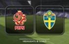 Highlights: U21 Ba Lan 2-2 U21 Thụy Điển (Bảng A U21 Châu Âu 2017)