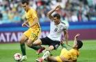 Màn rượt đuổi tỉ số nghẹt thở giữa Đức và Australia trên SVĐ thành phố Sochi