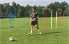 Chùm ảnh: Terry tập cực sung để chuẩn bị ra mắt đội bóng mới