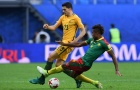 Highlights: Cameroon 1-1 Australia (Bảng B Confeds Cup)