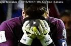 Những khoảnh khắc đáng quên của các thủ môn trong mùa giải qua