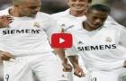 Ronaldo, Robinho và Julio Baptista nhảy cực chất sau khi ghi bàn