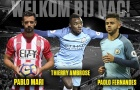 Man City một lúc đẩy đi 3 cầu thủ