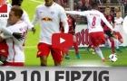 Top 10 bàn thắng đẹp nhất của RB Leipzig mùa 2016/17