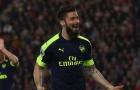 Đối tác rút lui, cơ hội bán Giroud của Arsenal bị thu nhỏ
