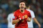 Hat-trick của Saul Niguez vào lưới U21 Italia