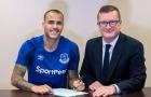 Everton CHÍNH THỨC công bố tài năng La Masia, Sandro Ramirez