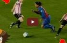 Làm thế nào Ronaldinho dễ dàng đánh bại các đối thủ khi đối mặt?