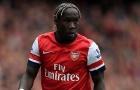 Bacary Sagna thời còn khoác áo Arsenal