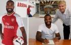 Lacazette và 10 bản hợp đồng người Pháp gần nhất của Arsene Wenger