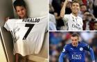 Ronaldo tặng quà cho con trai đồng nghiệp