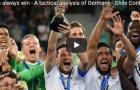 Phân tích chiến thuật giúp Đức lên ngôi tại Confederations Cup