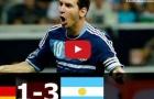 Trận cầu đáng nhớ: Đức 1-3 Argentina (giao hữu 2012/13)